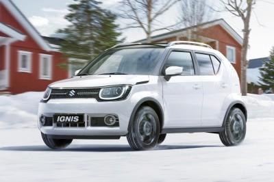 Suzuki Ignis SUV 4X4 Hybrid med permanent firehjulstrekk