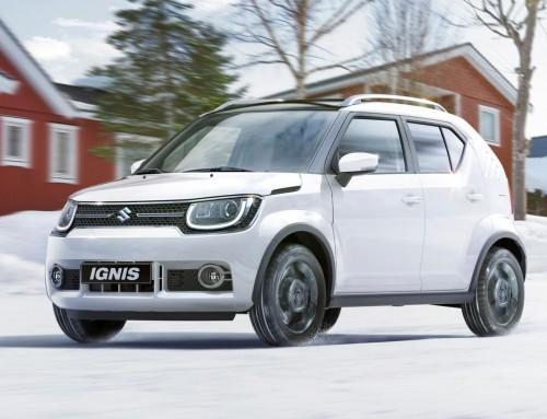Nyheten Suzuki Ignis SUV 4X4 Hybrid er kommet!