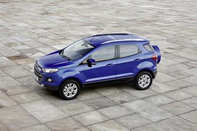 Ford EcoSport er kompakt og smidig.