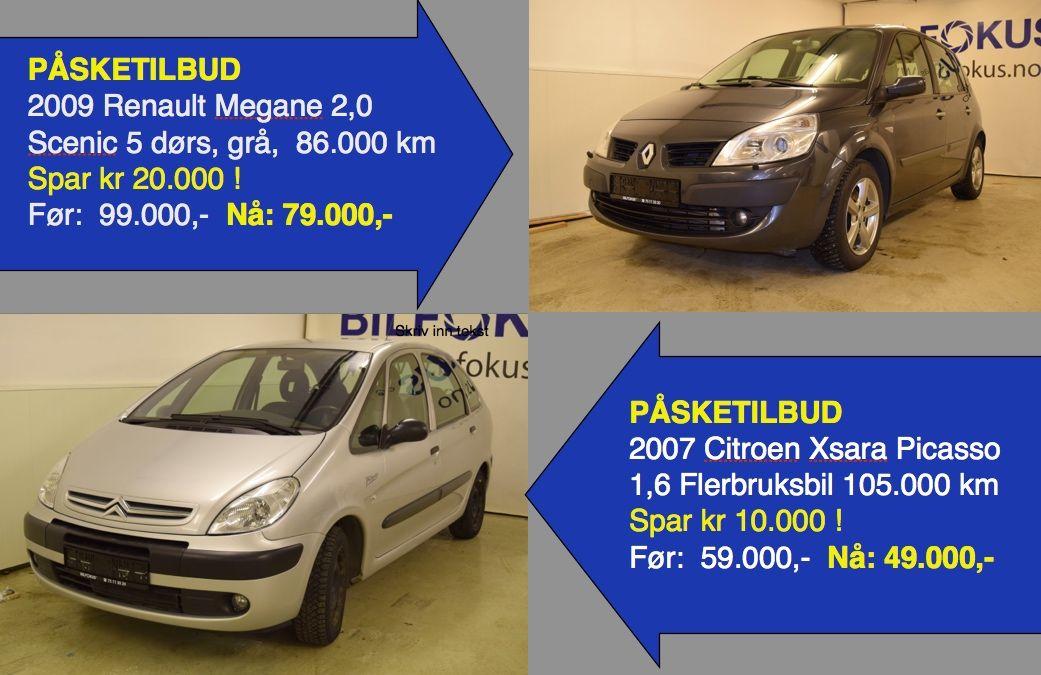Ekstra gode påsketilbud på Renault og Citroen