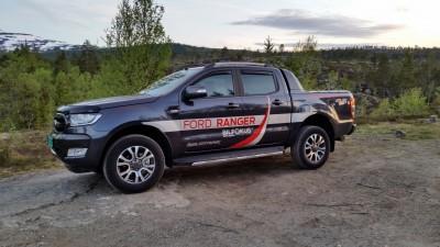 Ford Ranger kan frakte opptil 1250 kg og trekke opptil 3500 kg