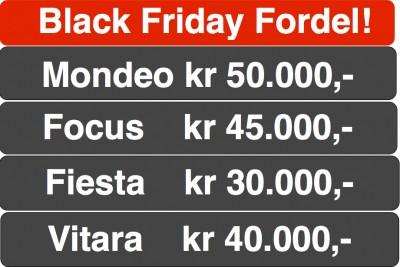 Mye mer bil for mindre penger på Black Friday