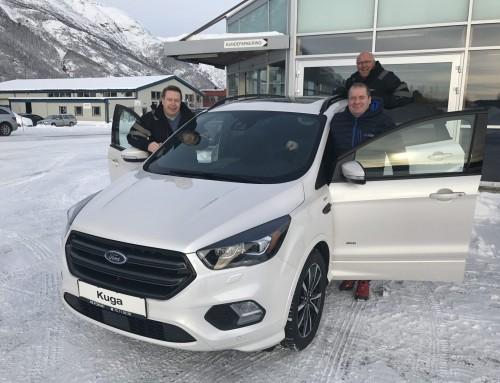 Stor lanseringsfest torsdag 23. februar kl 08.00 – 19.00. Nye Ford Kuga er kommet!