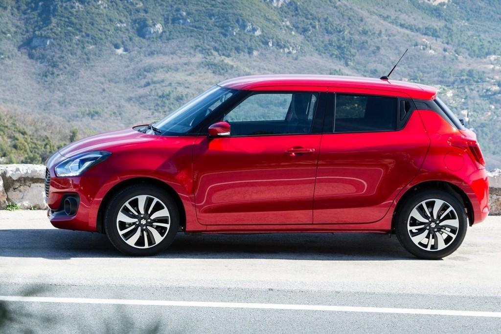 Nye Suzuki Swift Hybrid er kommet. Fullpakket av utstyr, lavt forbruk og inkludert 4X4!