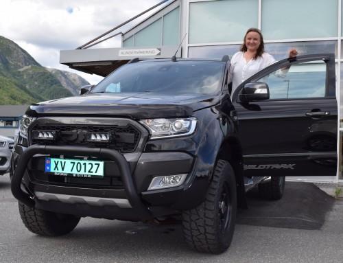Ford Ranger Wildtrak Delta Monster til Anita!