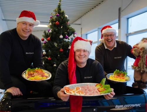 velkommen til julelunch torsdag 14. desember