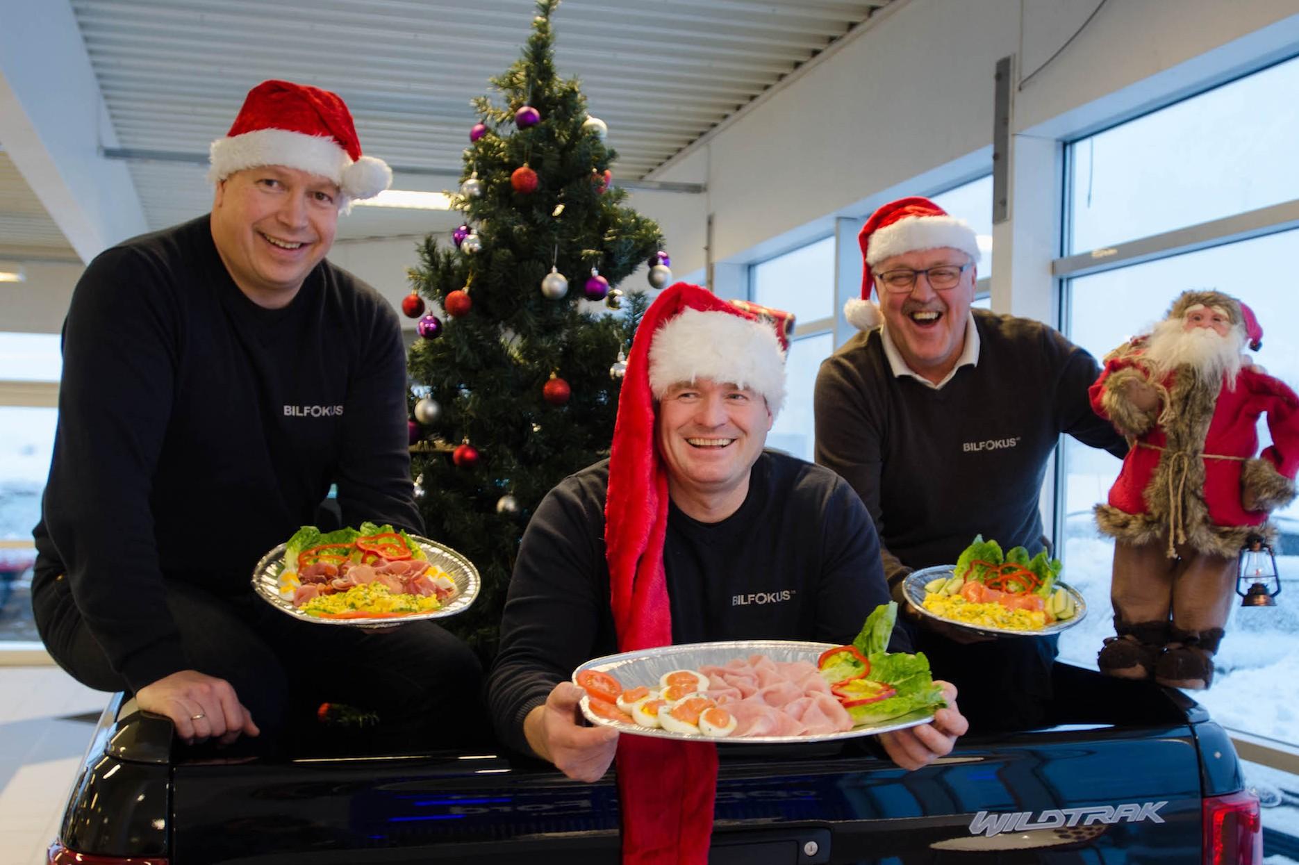 Velkommen til julelunch hos Bilfokus.