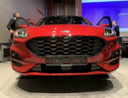 VIP-visning av nye Ford Kuga
