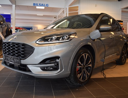 Stor interesse for nye Ford Kuga PHV