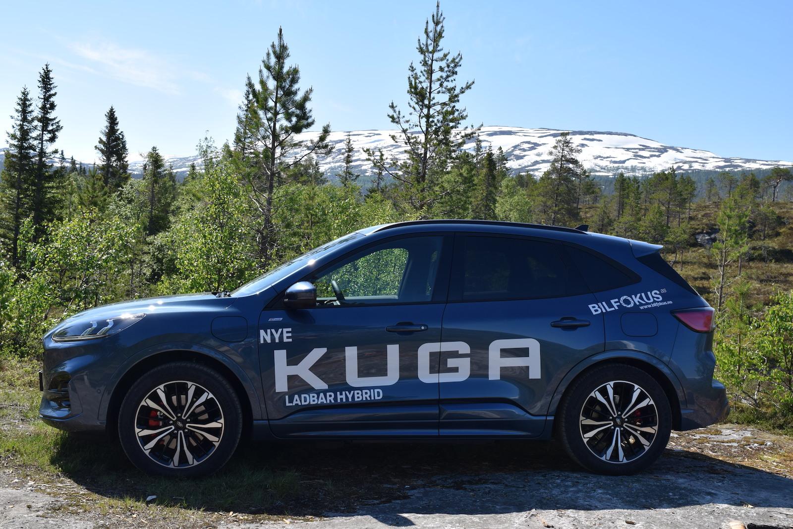 Ford Kuga fra Bilfokus klar til prøvekjøring