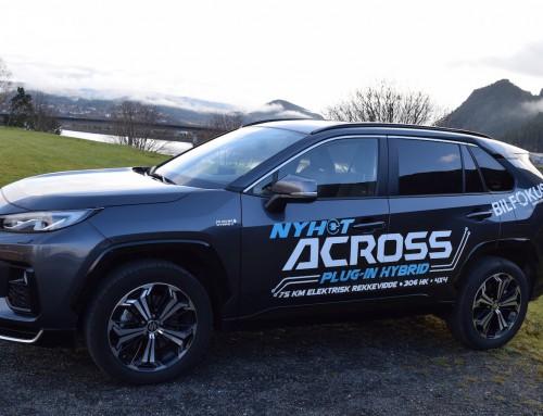 Prøvekjør nye Suzuki A-Cross