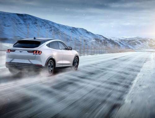 Ford Mustang Mach-E klar for prøvekjøring